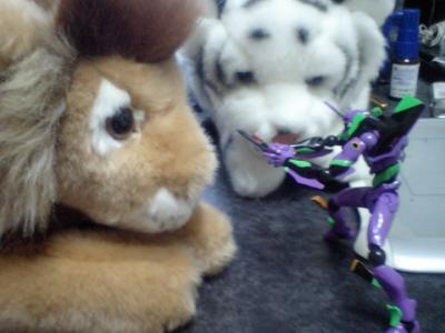 虎とライヨンとエヴァ